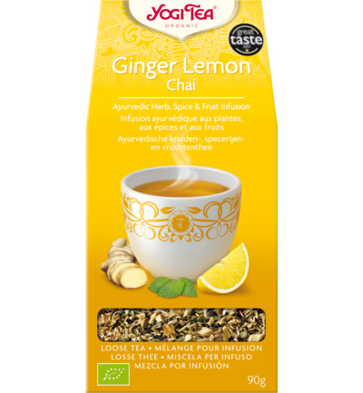 Ginger lemon chai