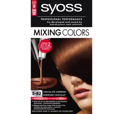 Mixing Color 5.82 chocolate blend