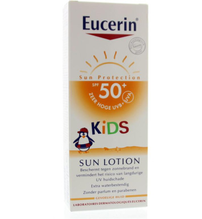 eucerin sun kids lot f50+