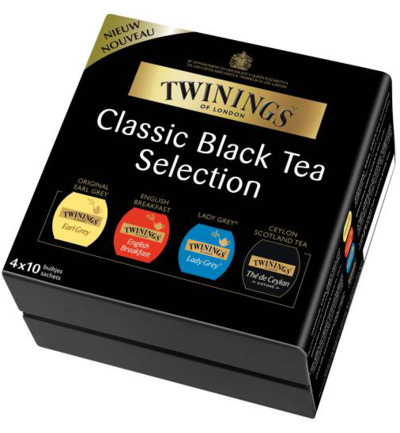 Twinings Theekist Black Tea (4x10)