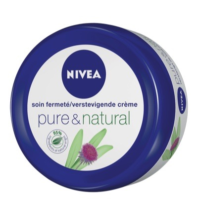 Pure & natural body cream