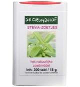 Stevia extract zoetjes dispenser