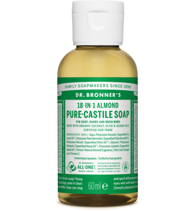 Magic pure castile soap amandel