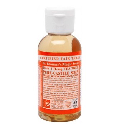Dr. Bronner Liquid Soap Tea Tree - 59 ml - Douchegel