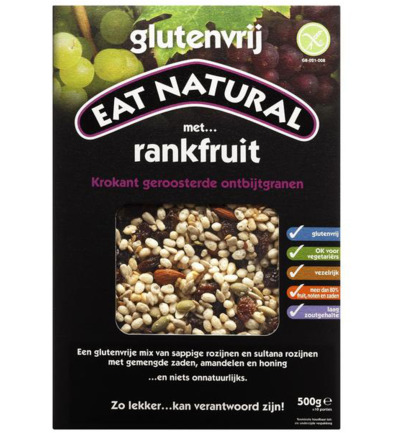 Afbeelding van Eat Natural Cereal Rankfruit 500g