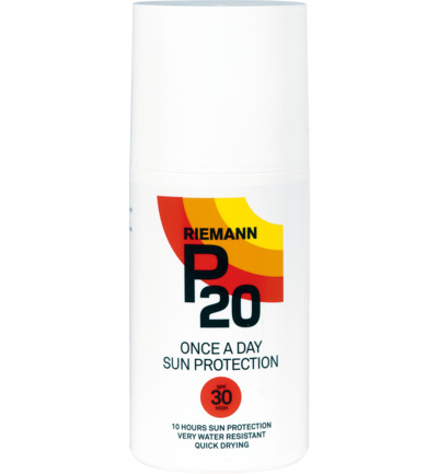 P20 Riemann Zonnebrand Factor(spf)30 Sprayflacon 200ml