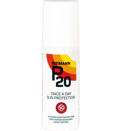 Once a day factor 50 spray