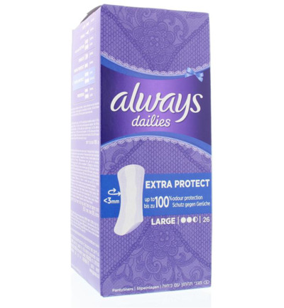 Dailies extra protect large