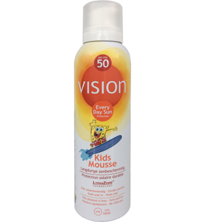 Kids mousse SPF50