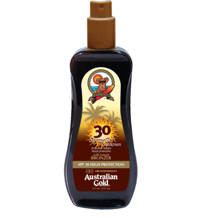 Spray Gel Sunscreen SPF30 Bronzer