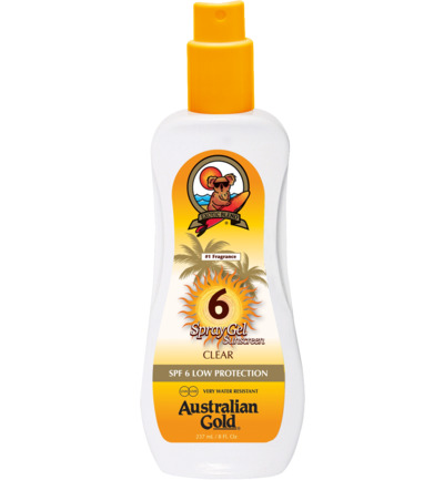 Spray Gel Sunscreen SPF6