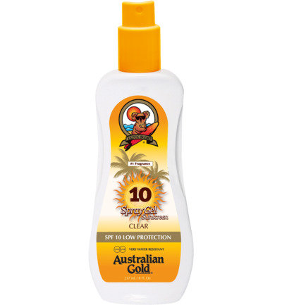 Spray Gel Sunscreen SPF10