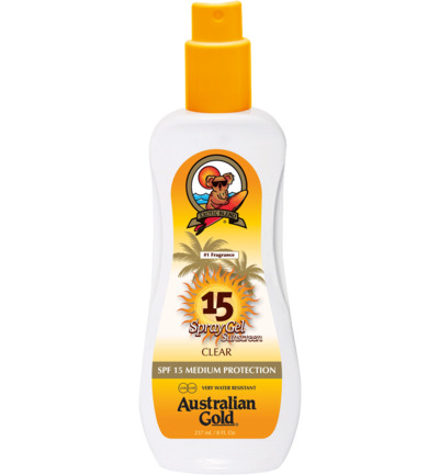Spray Gel Sunscreen SPF15