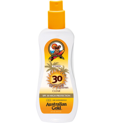 Spray Gel Sunscreen SPF30