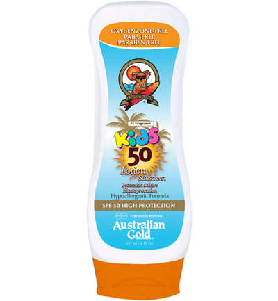 Kids Lotion Sunscreen SPF50 Hypoallergenic Formula
