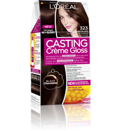 Casting creme gloss 323 Hot chocolate