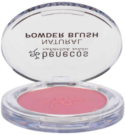 Compact blush mallow red