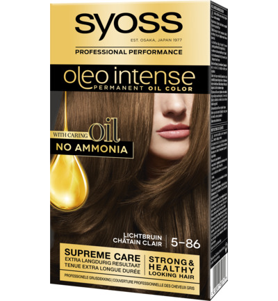 Color Oleo Intense 5-86 lichtbruin haarverf