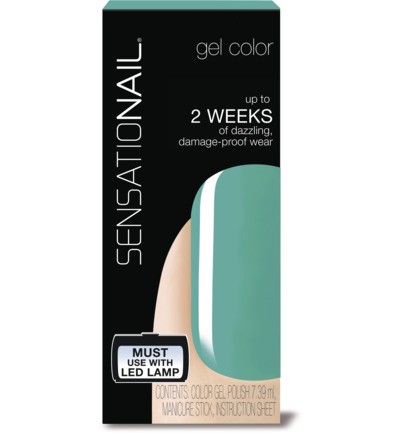 Color gel island oasis