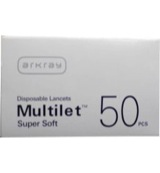 Multilet supersoft lancet