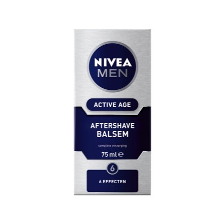Aftershave balsem men active age