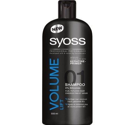 Shampoo volume lift