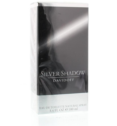 Silver shadow eau de toilette men