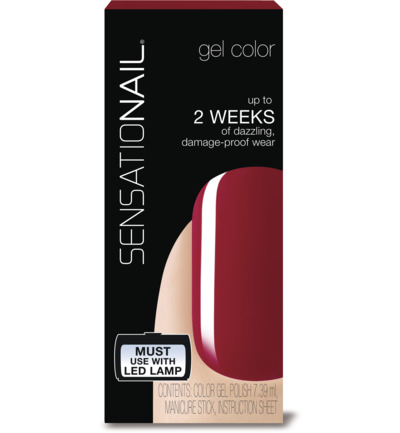 Color gel juicy sangria