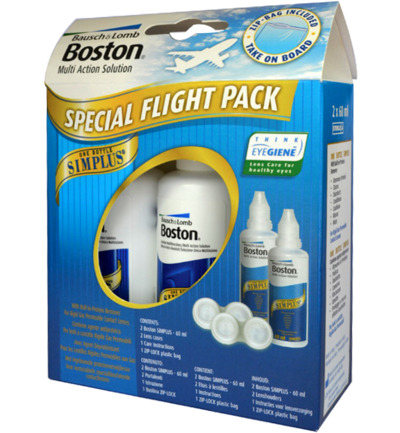 Boston simplus flight pack 60 ml