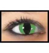 1 Maand crazy lens demon green
