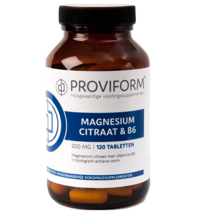 PROVIFORM MAGNES CITRAAT 200MG 120TB