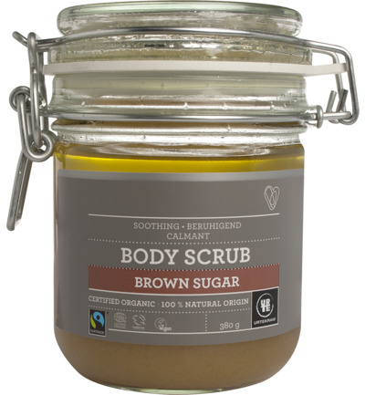 Body scrub brown sugar lavender eucalyptus