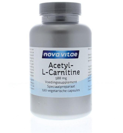 Acetyl-l-carnitine 588 mg