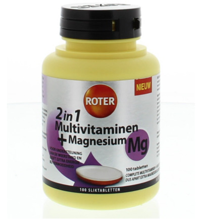 Multivitaminen 188 mg magnesium