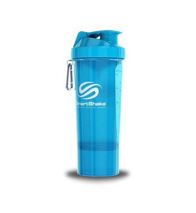Smartshake neon blue 500 ml