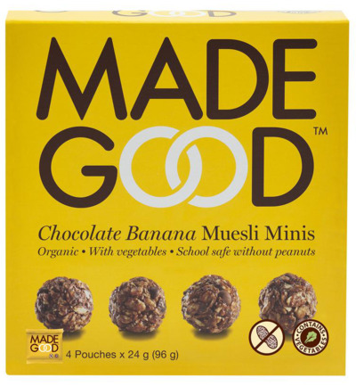 Granola minis chocolate banana