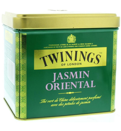 Jasmine green tea blik