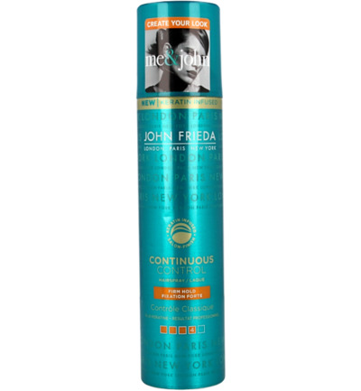 Hairspray relax firm hold