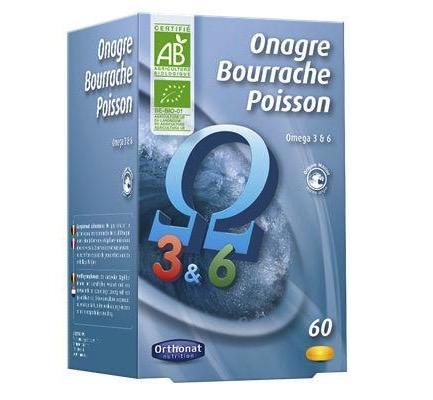 Onagre bourrache poisson