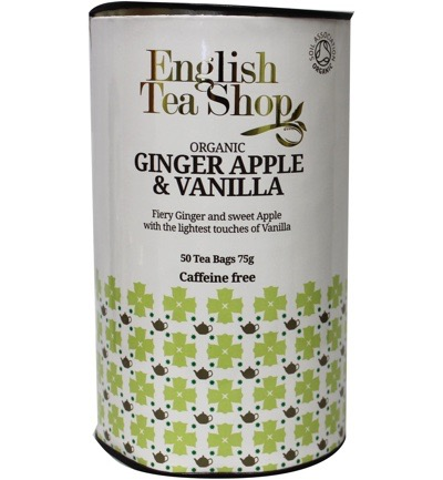 Ginger vanilla apple paper can