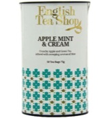 Apple mint & cream paper can