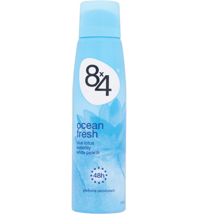 Deodorant spray ocean fresh