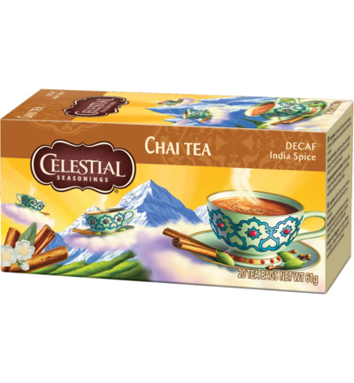 Chai tea decaf Indian spice
