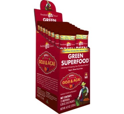 Afbeelding van Amazing Grass Green Superfood 120 g (15x8g) Berry