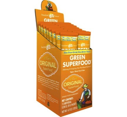 Afbeelding van Amazing Grass Green Original Superfood 15sach