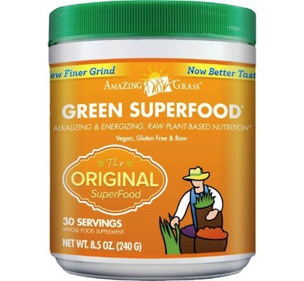 Afbeelding van Amazing Grass Green Original Superfood 240g