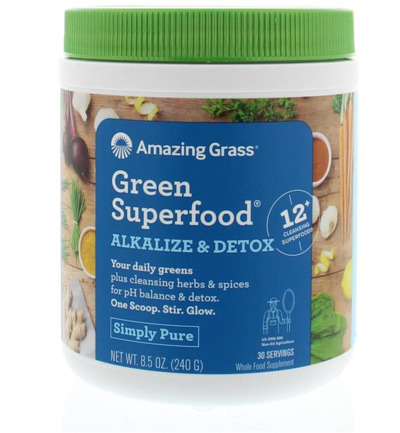 Afbeelding van Amazing Grass Alkalize Green Superfood 240g
