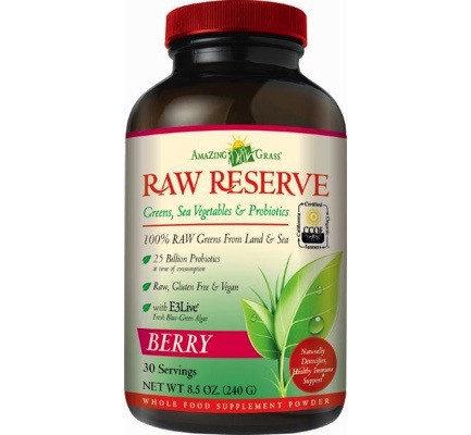 Afbeelding van Amazing Grass Raw Reserve Berry Green Superfood 240g