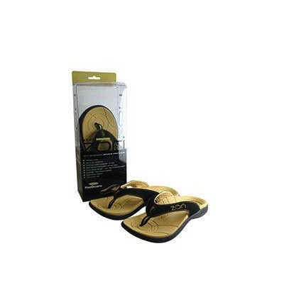 Slippers black size 10