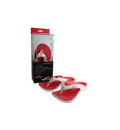 Slippers red size 8